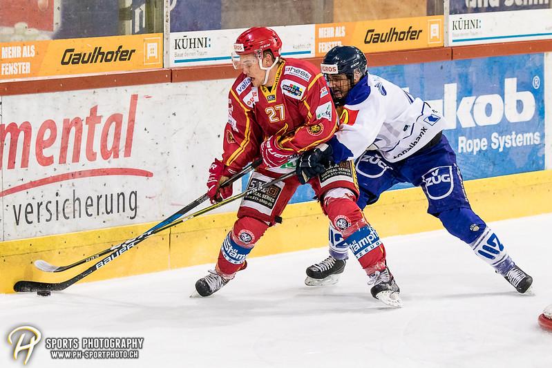Junioren Elite A: SCL Young Tigers - EV Zug - 1:3
