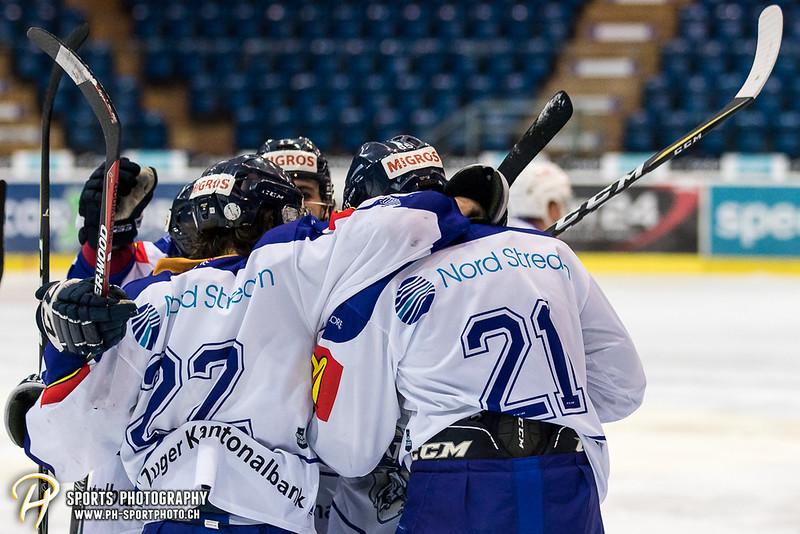 Elite A Junioren Playoffs - Viertelfinal - Spiel 3: EHC Kloten - EV Zug - 2:3