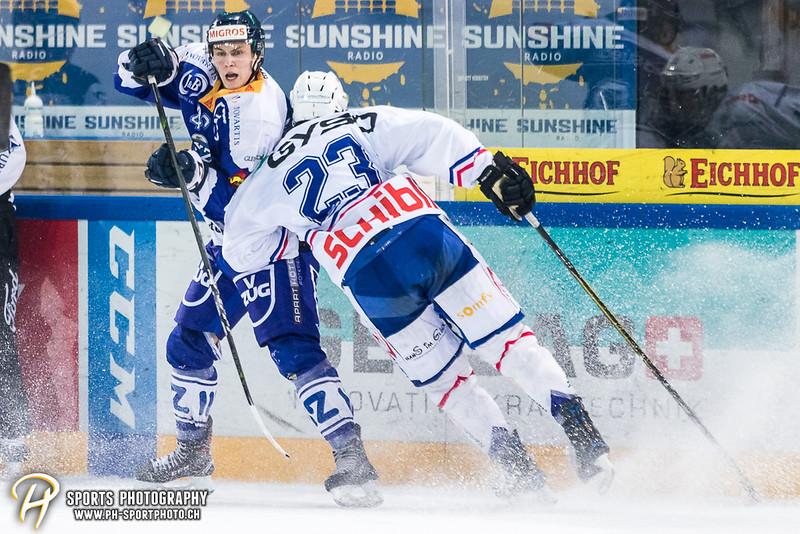 Elite A Junioren Playoffs - Viertelfinal - Spiel 4: EV Zug - EHC Kloten - 3:4