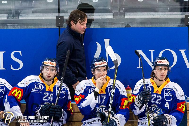 Elite A Junioren Playoffs - Halbfinal - Spiel 1: EV Zug - GCK Lions - 4:5 OT