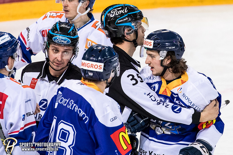 Elite A Junioren Playoffs - Halbfinal - Spiel 3: EV Zug - GCK Lions - 3:0