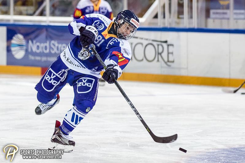 Freundschaftsspiel: EV Zug Elite A - Genève Futur Hockey - 5:3 - Bild-ID: 2017081600325