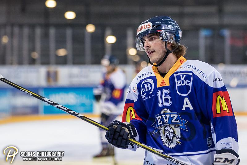Freundschaftsspiel: EV Zug Elite A - Genève Futur Hockey - 5:3 - Bild-ID: 2017081600340