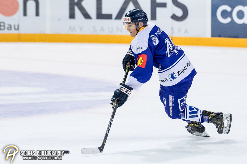 Freundschaftsspiel: EV Zug Elite A - Genève Futur Hockey - 5:3 - Bild-ID: 2017081600422