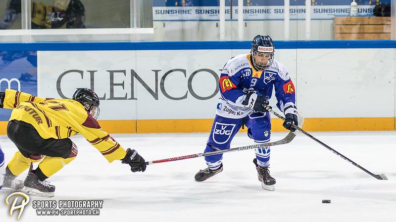 Freundschaftsspiel: EV Zug Elite A - Genève Futur Hockey - 5:3 - Bild-ID: 2017081600856