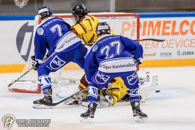 Freundschaftsspiel: EV Zug Elite A - Genève Futur Hockey - 5:3 - Bild-ID: 2017081600880