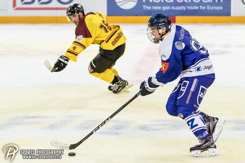 Freundschaftsspiel: EV Zug Elite A - Genève Futur Hockey - 5:3 - Bild-ID: 2017081600849