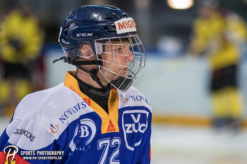 Freundschaftsspiel: EV Zug Elite A - Genève Futur Hockey - 5:3 - Bild-ID: 2017081600302