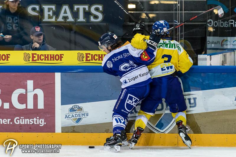 Junioren Elite A: EV Zug - HC Davos - 3:2 - Bild-ID: 201709100344