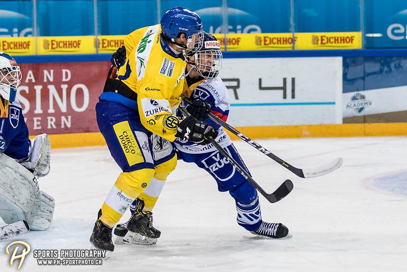Junioren Elite A: EV Zug - HC Davos - 3:2 - Bild-ID: 201709100269