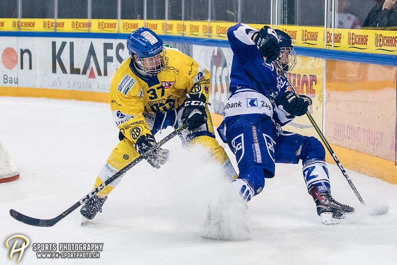 Junioren Elite A: EV Zug - HC Davos - 3:2 - Bild-ID: 201709100497