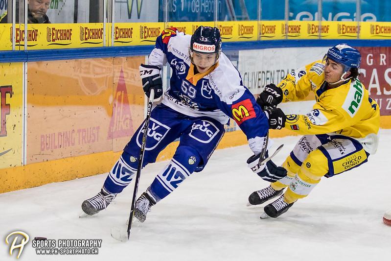 Junioren Elite A: EV Zug - HC Davos - 3:2 - Bild-ID: 201709100308