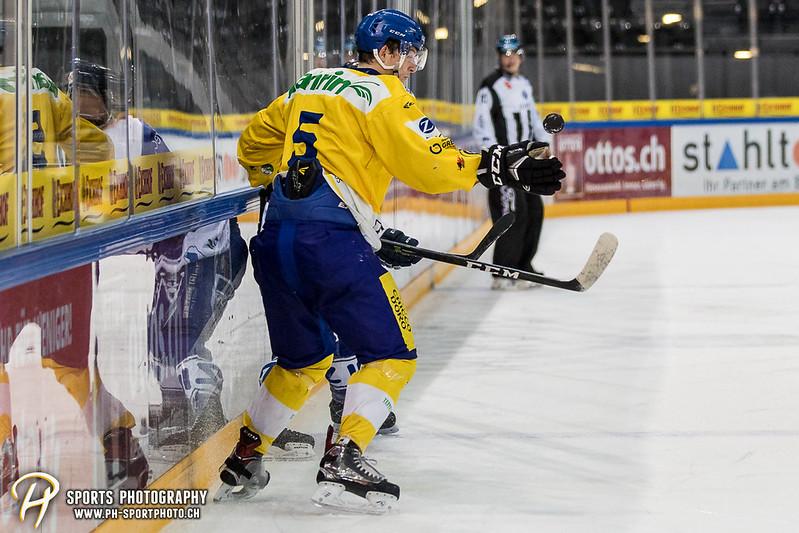 Junioren Elite A: EV Zug - HC Davos - 3:2 - Bild-ID: 201709100299