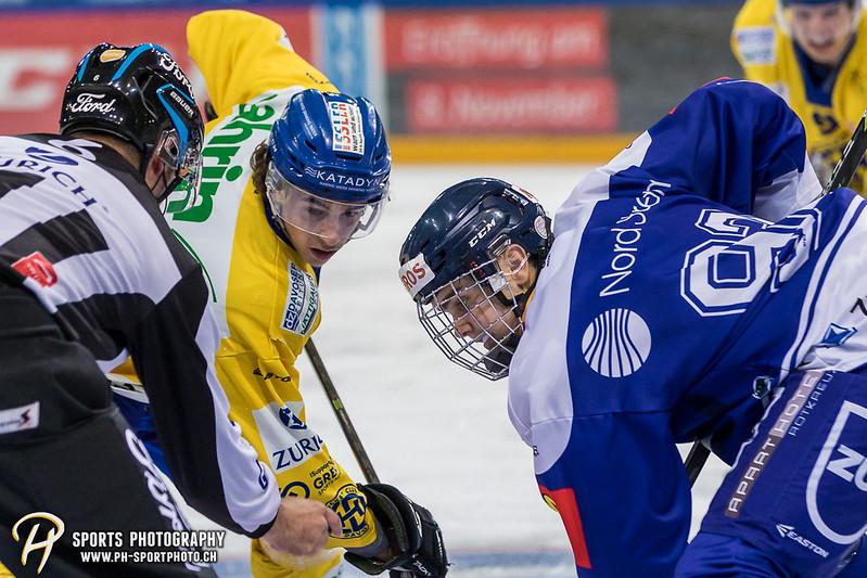 Junioren Elite A: EV Zug - HC Davos - 3:2 - Bild-ID: 201709100430