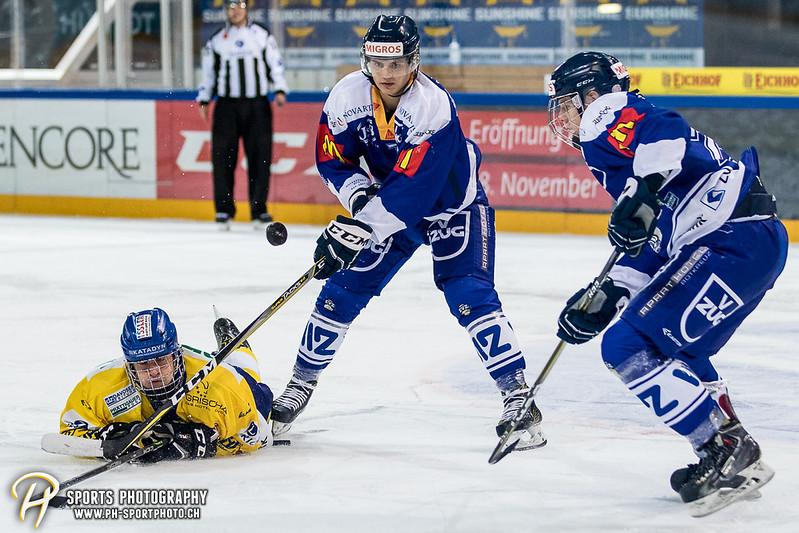 Junioren Elite A: EV Zug - HC Davos - 3:2 - Bild-ID: 201709100458