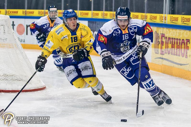 Junioren Elite A: EV Zug - HC Davos - 3:2 - Bild-ID: 201709100421
