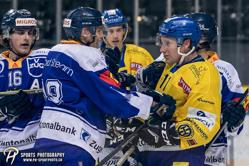 Junioren Elite A: EV Zug - HC Davos - 3:2 - Bild-ID: 201709100444