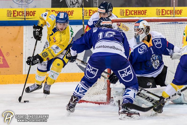 Junioren Elite A: EV Zug - HC Davos - 3:2 - Bild-ID: 201709100393