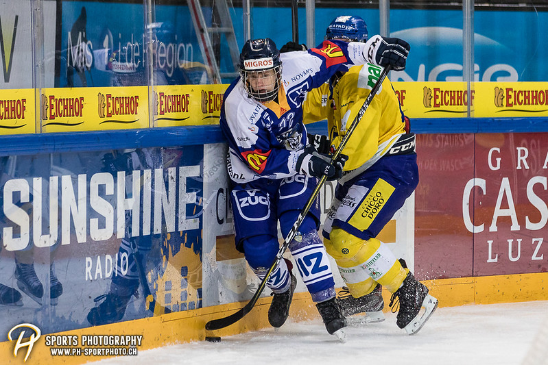 Junioren Elite A: EV Zug - HC Davos - 3:2 - Bild-ID: 201709100280
