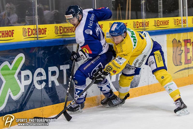 Junioren Elite A: EV Zug - HC Davos - 3:2 - Bild-ID: 201709100315
