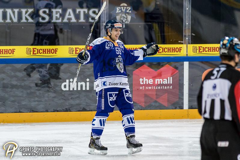 Junioren Elite A: EV Zug - HC Davos - 3:2 - Bild-ID: 201709100358