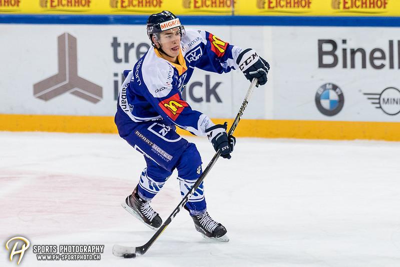 Junioren Elite A: EV Zug - HC Davos - 3:2 - Bild-ID: 201709100398