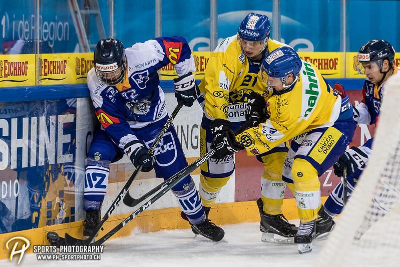 Junioren Elite A: EV Zug - HC Davos - 3:2 - Bild-ID: 201709100282