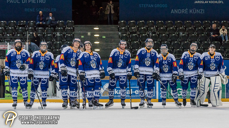 Junioren Elite A: EV Zug - HC Davos - 3:2 - Bild-ID: 201709100521