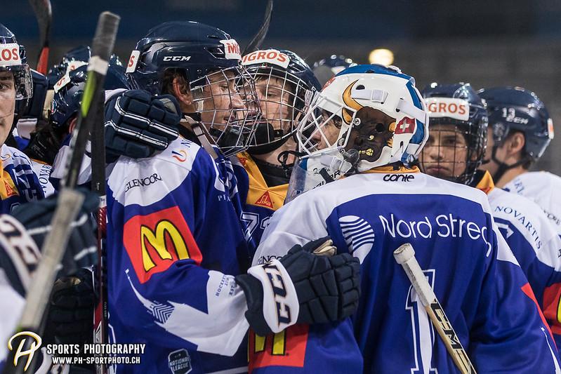 Junioren Elite A: EV Zug - HC Davos - 3:2 - Bild-ID: 201709100513