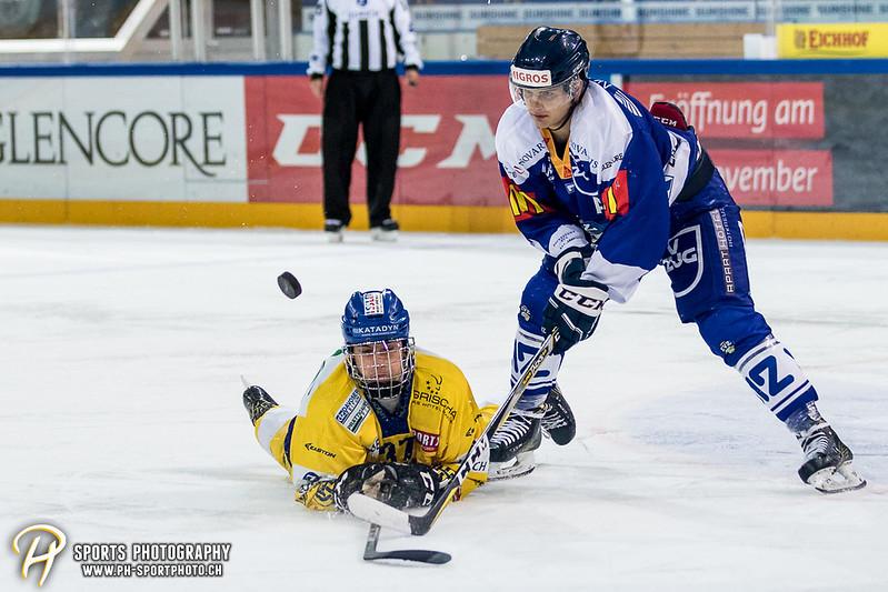 Junioren Elite A: EV Zug - HC Davos - 3:2 - Bild-ID: 201709100456