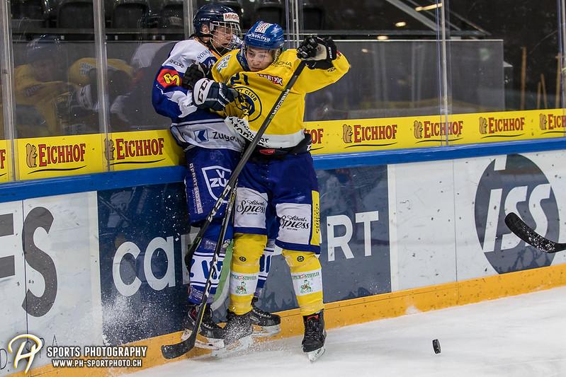 Junioren Elite A: EV Zug - HC Davos - 3:2 - Bild-ID: 201709100286