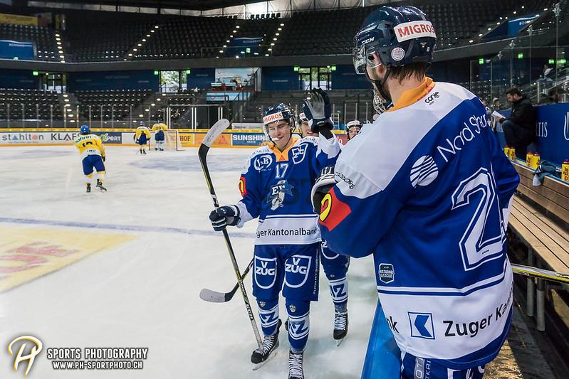Junioren Elite A: EV Zug - HC Davos - 3:2 - Bild-ID: 201709100362