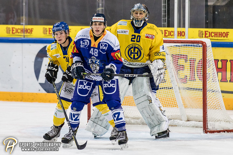 Junioren Elite A: EV Zug - HC Davos - 3:2 - Bild-ID: 201709100379