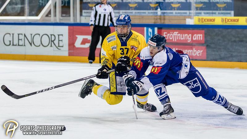 Junioren Elite A: EV Zug - HC Davos - 3:2 - Bild-ID: 201709100455
