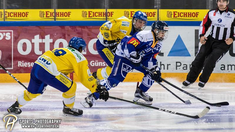 Junioren Elite A: EV Zug - HC Davos - 3:2 - Bild-ID: 201709100340