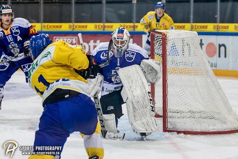 Junioren Elite A: EV Zug - HC Davos - 3:2 - Bild-ID: 201709100433