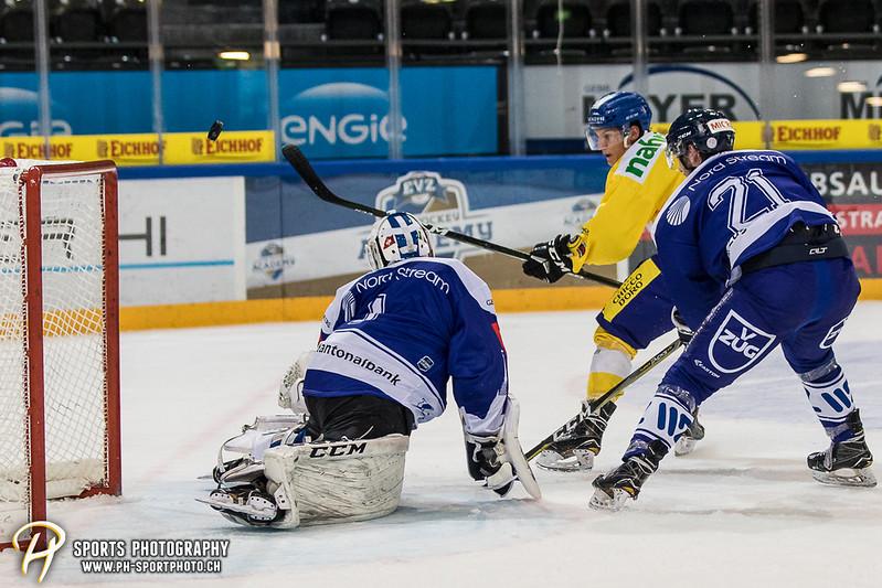 Junioren Elite A: EV Zug - HC Davos - 3:2 - Bild-ID: 201709100314