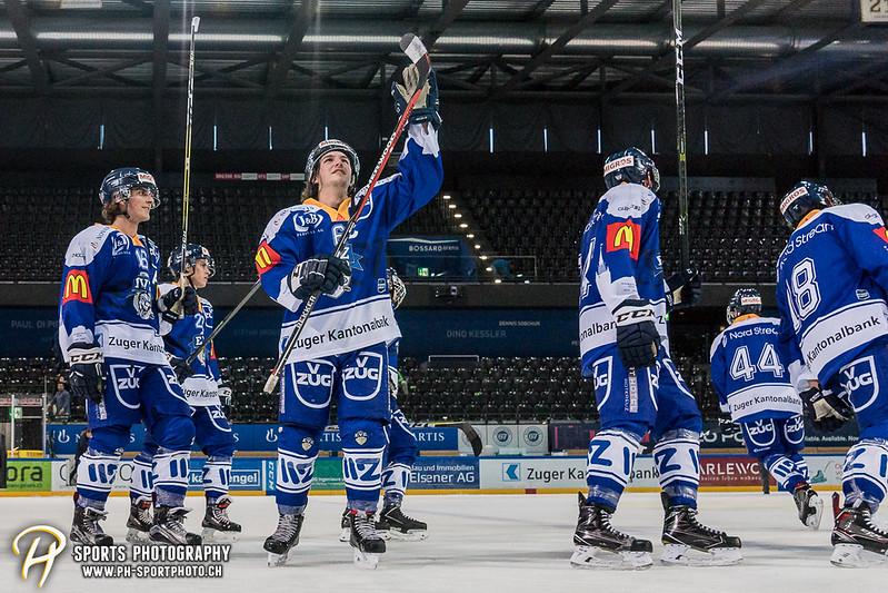 Junioren Elite A: EV Zug - HC Davos - 3:2 - Bild-ID: 201709100524