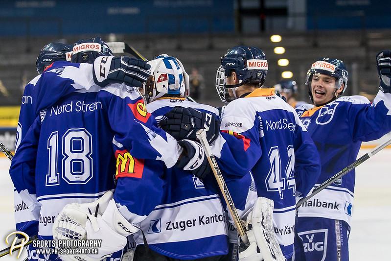 Junioren Elite A: EV Zug - HC Davos - 3:2 - Bild-ID: 201709100508