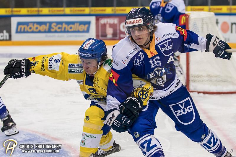 Junioren Elite A: EV Zug - HC Davos - 3:2 - Bild-ID: 201709100424