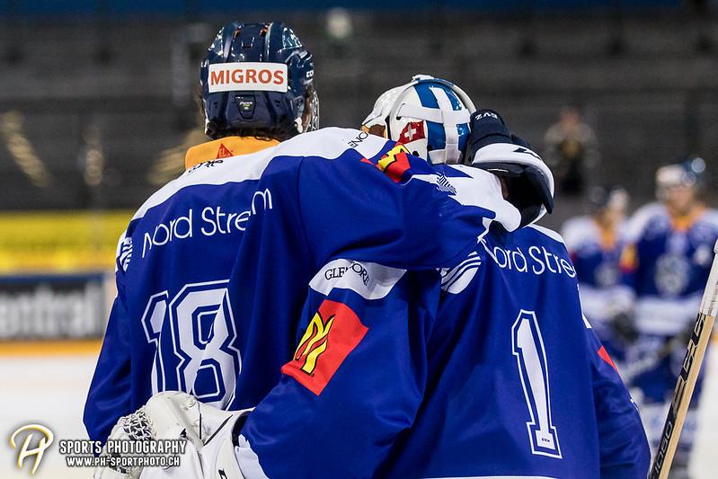Junioren Elite A: EV Zug - HC Davos - 3:2 - Bild-ID: 201709100506