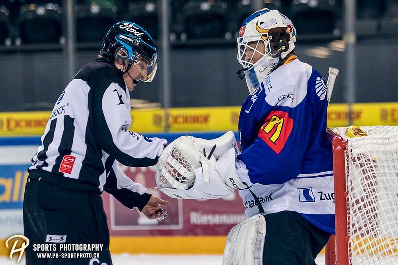 Junioren Elite A: EV Zug - HC Davos - 3:2 - Bild-ID: 201709100481