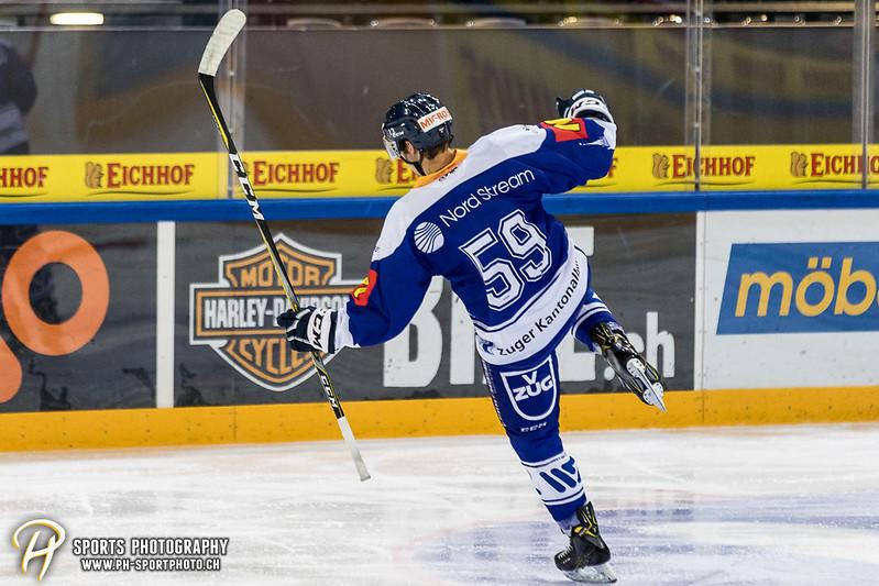 Junioren Elite A: EV Zug - HC Davos - 3:2 - Bild-ID: 201709100355