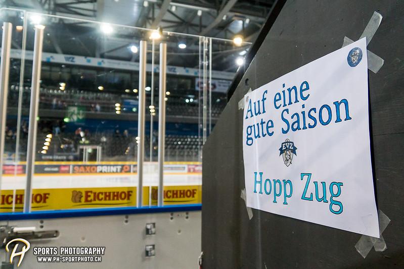 Junioren Elite A: EV Zug - HC Davos - 3:2 - Bild-ID: 201709100400