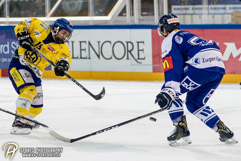 Junioren Elite A: EV Zug - HC Davos - 3:2 - Bild-ID: 201709100460