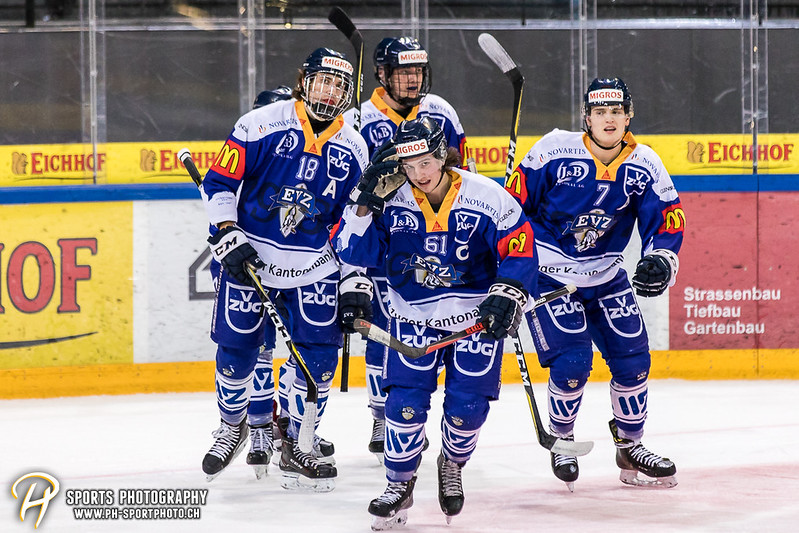 Junioren Elite A: EV Zug - Genève Futur Hockey - 3:1