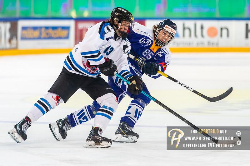 Elite A Junioren - 18/19: EV Zug - Gottéron MJ Sàrl - 14-09-2018