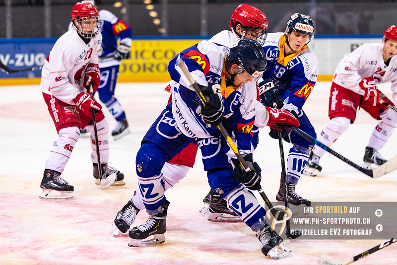 Elite A Junioren - 18/19: EV Zug - Lausanne 4 Clubs - 29-09-2018