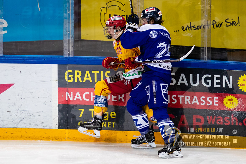 Elite A Junioren - 18/19: EV Zug - SCL Young Tigers - 07-10-2018