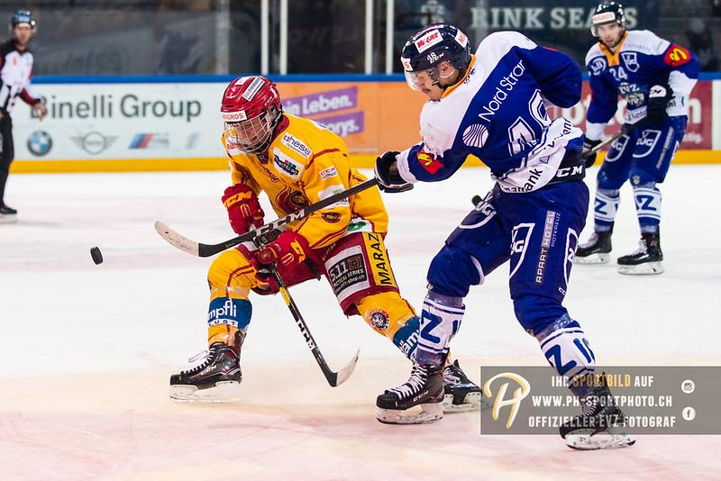 Elite A Junioren - 18/19: EV Zug - SCL Young Tigers - 07-10-2018